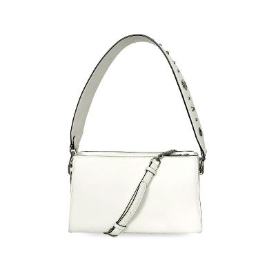 stud 2way bag white